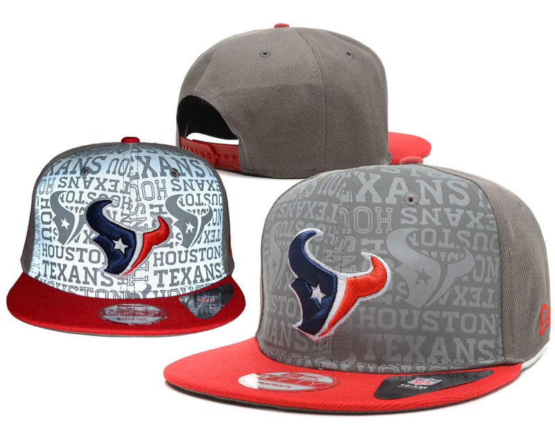 Houston Texans Reflective Snapback Hat SD 0721